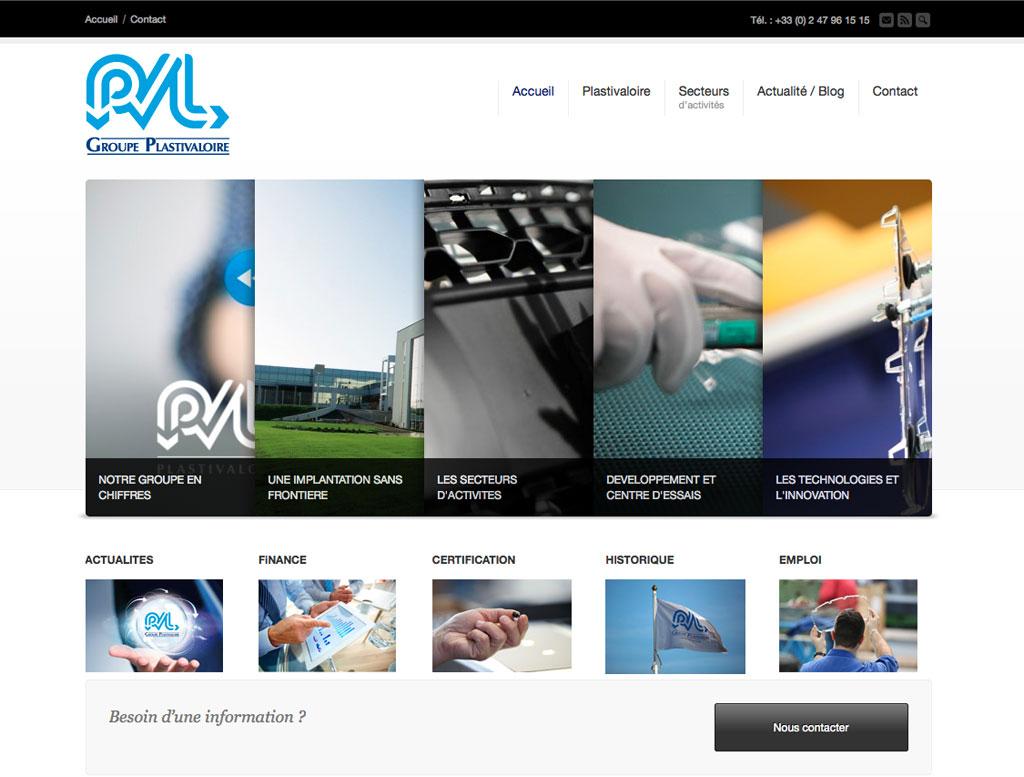 Nouveau site web PVL