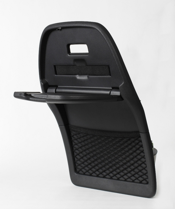 Removable tablet for automobile seat