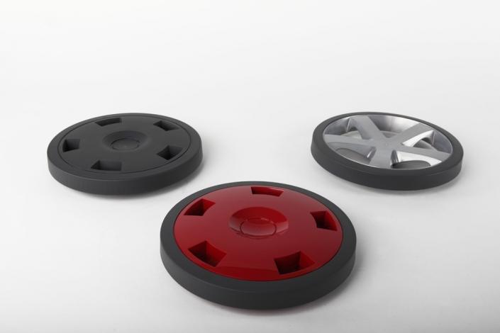 Vacuum cleaner wheels